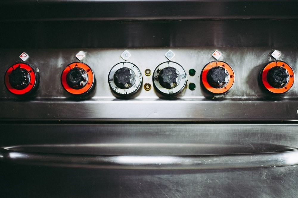 stove closed