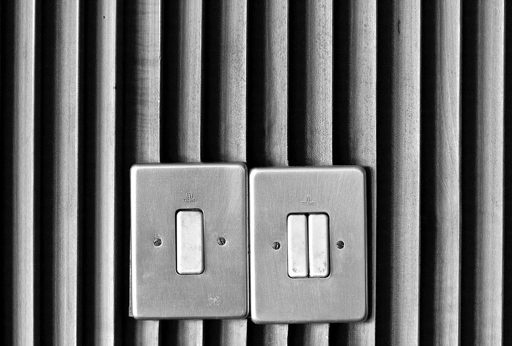 switches on a wall