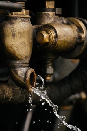 Valves leaking water